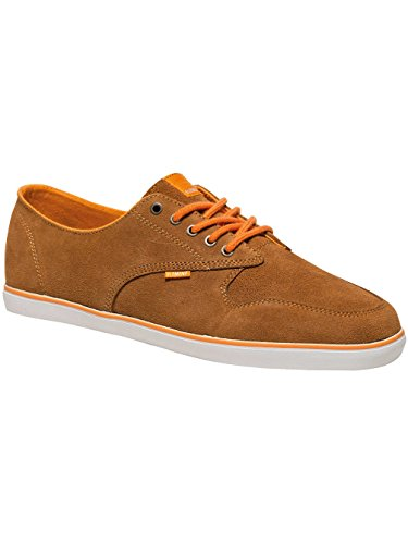 Hombre Element Topaz Suede Low Athletic Sneakers, Brown Men (cathay Spice)