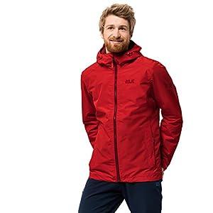 41nHkQ69gjL. SS300  - Jack Wolfskin Chilly Morning Men's Winter Hiking Jacket Waterproof Windproof Breathable Weatherproof Jacket, Men
