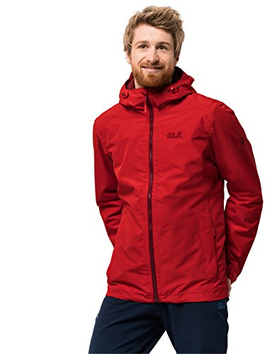 Jack Wolfskin Herren Chilly Morning Men Winterwanderjacke Wasserdicht Winddicht Atmungsakt