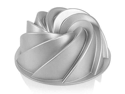 Bluespoon Gugelhupf Form aus Aluguss | Durchmesser ca. 24 cm | Verleihen Sie Ihrem Kuchen die charakteristische Form