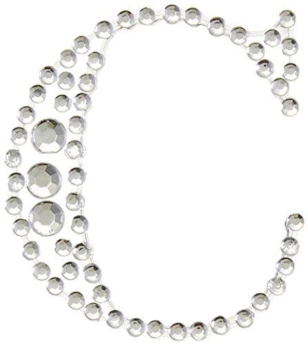 kaiser-craft-c-lettere-adesive-con-brillantini-colore-argento