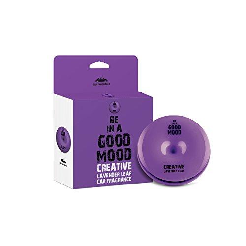 Be in a Good Mood Auto Düfte - ätherische Öle - Entlüfter Diffusor - unangenehme Gerüche beseitigen (Lavendel Blatt)