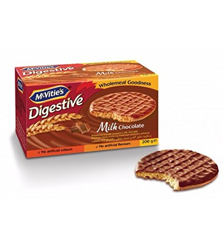 McVitie's Digestive Milk Chocolate Imported Biscuit, 200g