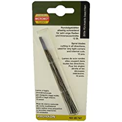 Proxxon 28747 Lame ronde. 130 mm. Avec extrémités plates (sans ergot)