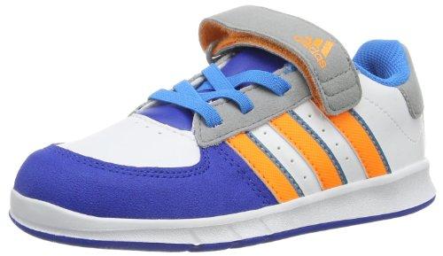 adidas JanBS I D65364 Unisex-Kinder Sneaker Weiß (Unwht/Solze)
