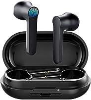 سماعات أذن لاسلكية بلوتوث 5.0 سماعات في الأذن مع جراب شحن، سماعات الرأس الرياضية المقاومة للماء IPX5 مع ميكروف