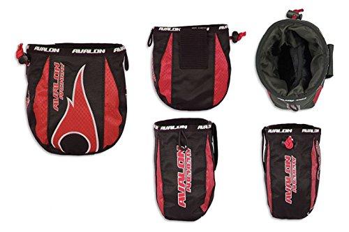 Avalon Bogenschießen Tasche Beutel für die Lagerung Ihrer Release Aid und Zubehör Rot