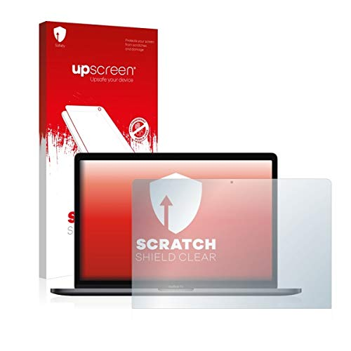 Bedifol upscreen Scratch Shield Clear Schutzfolie Passgenau für Apple MacBook Pro 15 (2018), Anti-Fingerprint, Starker Kratzschutz, hochtransparent