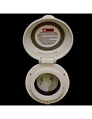 Osculati 14.303.00 - Presa Marinco Valox 16-30 A frontale tondo (Marinco Valox 16-30A socket)