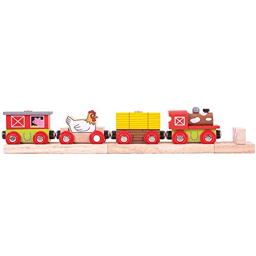 Bigjigs Rail Train Ferme