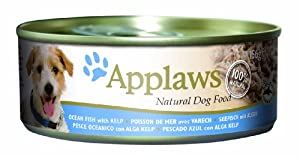 Applaws Dog Ocean Fish with Kelp 156 g (Pack of 24) from MPMA4