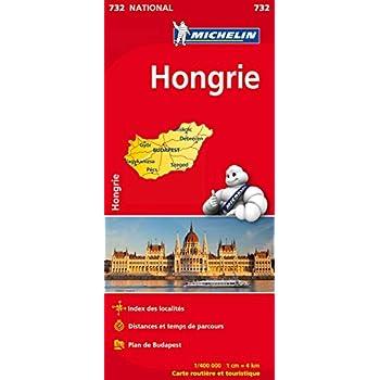 Carte NATIONAL Hongrie