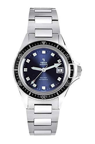 Yema, orologio da uomo Superman Heritage Blue, movimento ETA 2824-2, 500...
