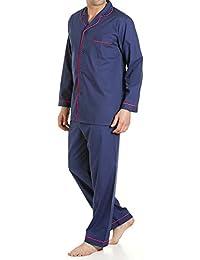 Longues pour homme 2 pièces traditionnels Ensemble pyjama avec Pantalon d'hôpital Lenoge Taille S-XXL