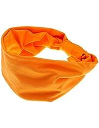 Frau Haarband Breit Sport Yoga Stirnband Stretch Wrap Weich Elastischer Turban
