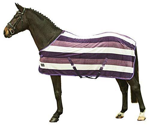HKM 550812 Abschwitzdecke fashion stripes mit Kreuzgurt, L
