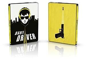 Baby Driver [Édition SteelBook limitée - Blu-ray + Blu-ray bonus + Copie digitale UltraViolet]