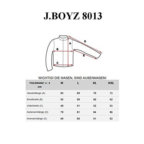 BOLF Herren Übergangsjacke Sweatjacke Bomberjacke Fliegerjacke Mix 4D4 Motiv Khaki_8013