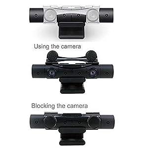 DOBE PS4Kamera V2.0Objektiv Cover Sensor Displayschutzfolie Mount Clip Halter für Sony Playstation Neue Kamera V2.0Sensor