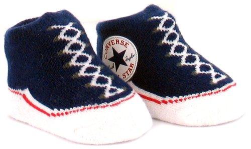 Converse, Casual bambino Blu (Navy & White)