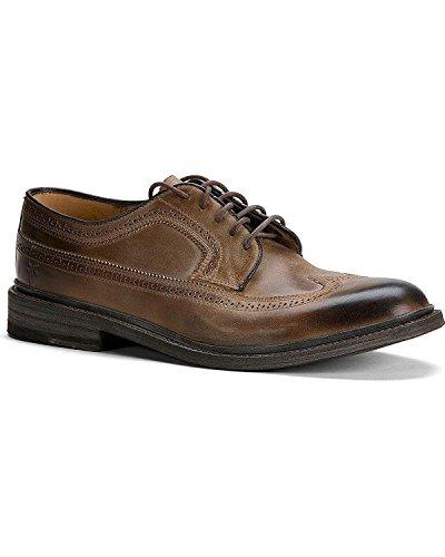 FRYE Men's James Wingtip Oxford Shoes Round Toe Tan US