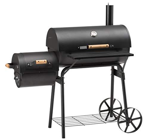 GrillChef Smoker 200, schwarz