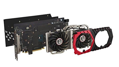MSI GeForce GTX 1060 Gaming X+ 6GB Nvidia GDDR5 1x HDMI - 6