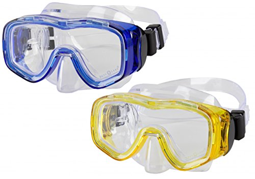 Kinder / Jugend Tauchmaske Ibiza Junior - gelb