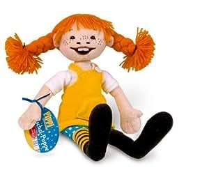 Oetinger 2290798 - Pippi Langstrumpf Kuschel-Puppe, 31 cm