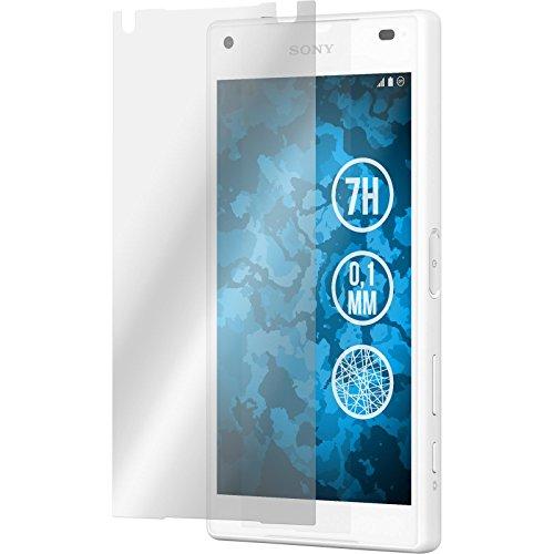 4-x-sony-xperia-z5-compact-displayschutzfolie-fiber-glas-klar-phonenatic-schutzfolien