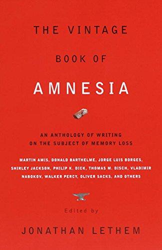 The Vintage Book of Amnesia (Vintage Crime/Black Lizard)