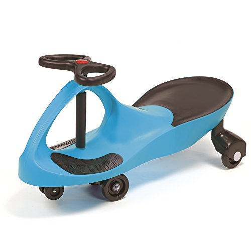 Kids Ride On Toy Wiggle Car, Boys & Girls Gyro Twist & Go Swivel Scooter No Pedals and No Batteries for Indoor / Outdoor (Blue)