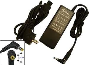 Chargeur - Alimentation pour TOSHIBA PA3083U-1ACA, 90 W, Adaptateur secteur pour ordinateur portable TOSHIBA PA3083U-1ACA garantie 9 mois, stocké à Paris, livraison 48h