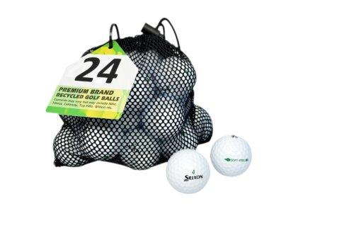 Second Chance Srixon Soft Feel 24 Premium Lake Golf Balls (Grade A)