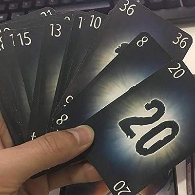 The Mind Card Game Jeu De Cartes Puzzle Carte