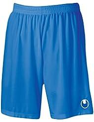 Uhlsport Center Basic II Short Homme Azur FR : XXS (Taille Fabricant : XXS)