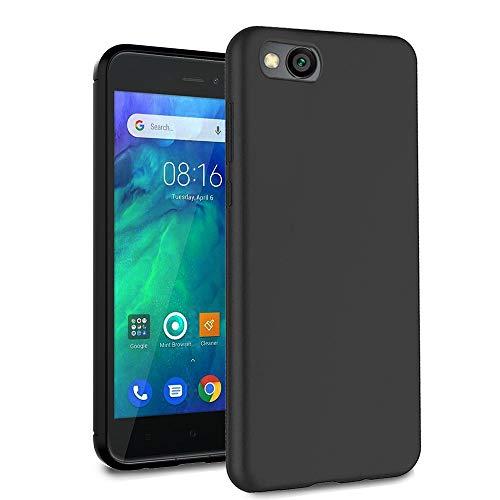Ferilinso Funda para Xiaomi Redmi Go, Ultra [Slim Thin] Resistente a los arañazos TPU Caucho Piel Suave Silicona Funda Protectora (Negro)