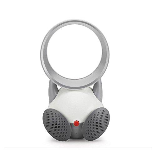 Bladeless Tischventilator PräZise Tower Fan Befeuchtung Effekt Safe MuteRotation , gray