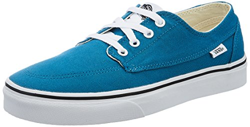 Vans Unisex Brigata Canvas, Seaport and True White Sneakers - 6 UK/India (39 EU)