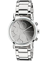 (CERTIFIED REFURBISHED) DKNY Analog Silver Dial Women's Watch - NY8860#CR