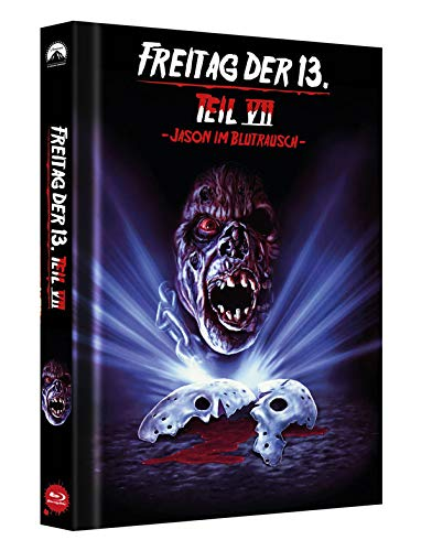 Freitag der 13. Teil 7 - Collectors Edition Mediabook (Cover C) [Blu-ray]