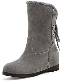 482aa32dcc9 HOESCZS A Estrenar De Gran Tamaño 34-43 Comodidad Botas de Nieve Cálido  Felpa Botas de Invierno Zapatos de Mujer Calzado Botas Calzado…