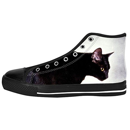 Dalliy s¨¹?e katze Kids Canvas shoes Schuhe Lace-up High-top Footwear Sneakers A