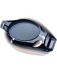 Fashy® Schwimmbrille mit Sehstärke / Dioptrien: linkes & rechtes Glas individuell nach Wunsch wählbar von 0,0 bis -8 mit Anti-Fog Beschichtung und 100% UVA / UVB Schutz, TÜV geprüft und CE-Kennzeichnung - (Made In Germany)