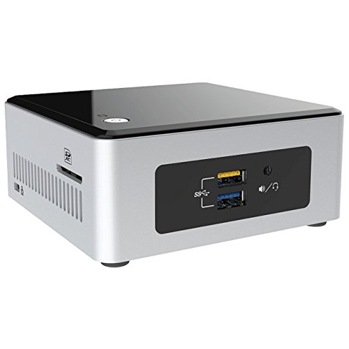 Mini PC Intel NUC 5CPYH (Intel N3050 bis zu 2X 2,16GHz, 8GB RAM, 500GB S-ATA HDD, HDMI, USB 3.0, WLAN, Infrarot, Cardreader, 7.1 onBoard, Windows 10 Pro) #2674