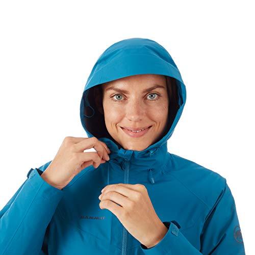 Mammut Damen 3in1 Convey Hooded Hardshell-Jacke mit Kapuze, Sapphire-Deer, S