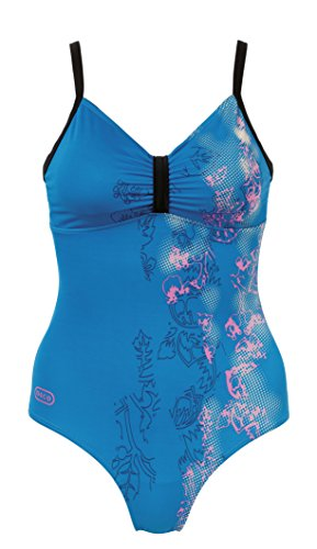 Beco Damen Badeanzug-Rock-a-Bella Swim Chic Türkis/Pink