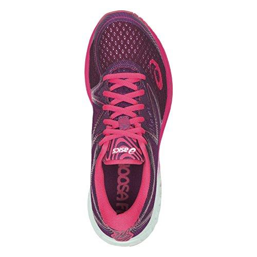 Asics Damen Noosa Ff Gymnastikschuhe Violett (Prune/glacier Sea/rouge Red)