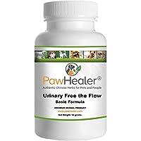 PawHealer Urinario Libre del Flujo básico - Perros de Piedras de vejiga - prevención de Piedras de remedio Natural en Perros - 50 Gramos