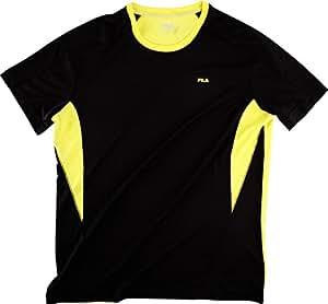 Fila homme taurus t-shirt pour homme XS,S,M,L,XL,XXL Noir - Noir